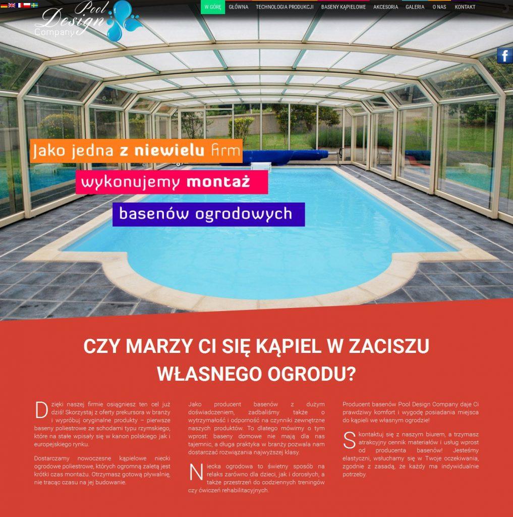Nasze realizacje studio lokomotywa pozna for Pool design polen